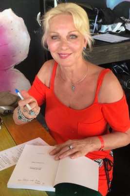 Anastasia Amor at Booksignings in Cozumel or at home in Canada